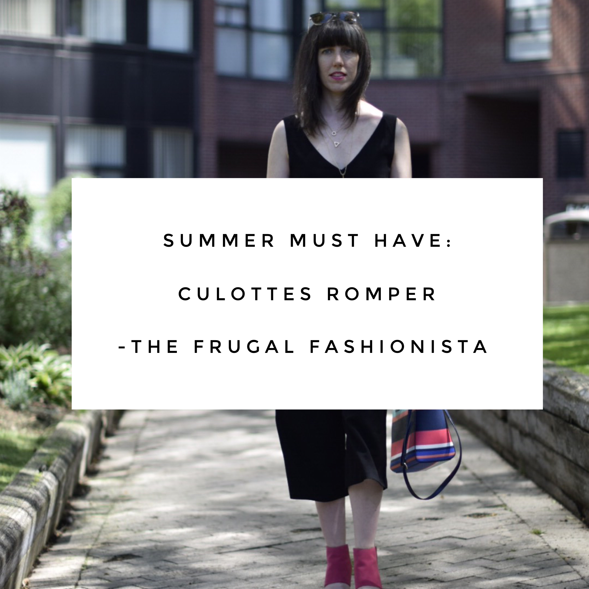 The Frugal Fashionista: Summer Must Have: Culottes Romper